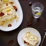 Buche roulee citron praline sans gluten facile video