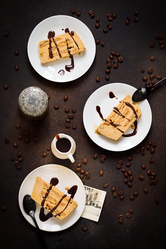 gateau glace cafe succes sauce chocolat recette facile