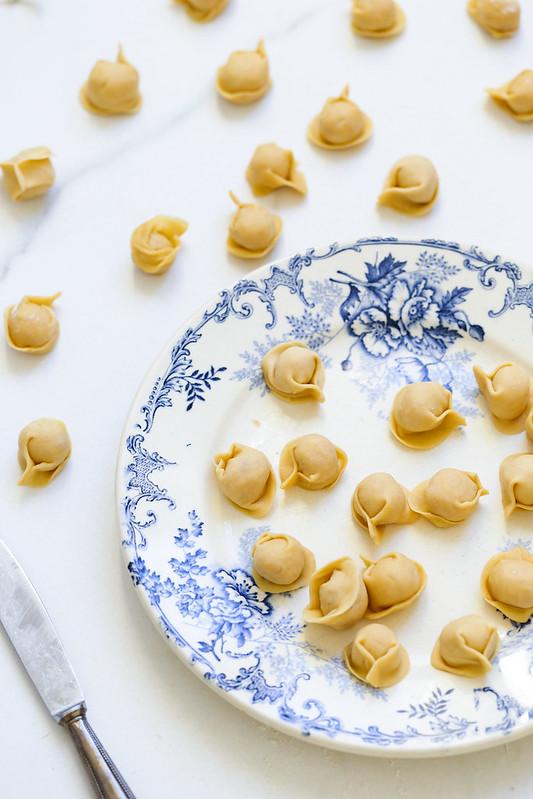 Ravioli viande en bouillon recette italienne video pas a pas
