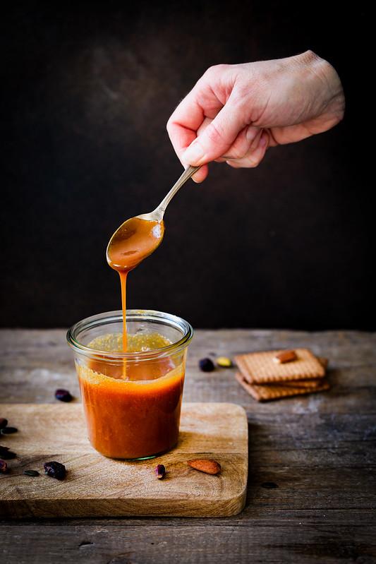 sauce caramel beurre sale recette facile video pas a pas