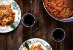 Bolognaise vegetarienne lentilles champignons recette facile