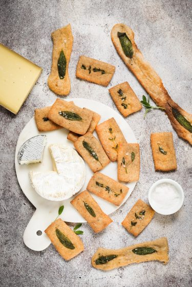 Crackers farine complete recette facile