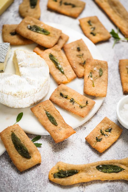 Crackers lavash farine complete sauge