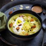 soupe brocoli amandes yaourt recette legere