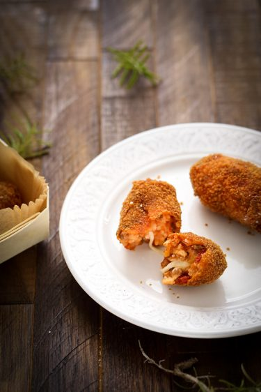 suppli croquettes riz romaine recette video