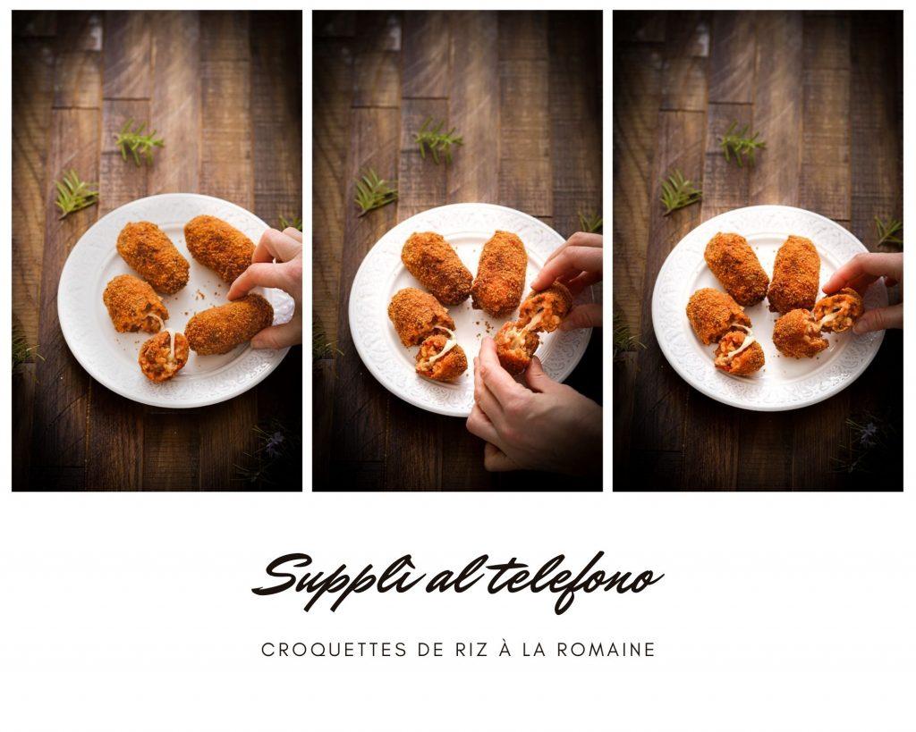 croquettes riz coeur mozzarella recette italienne video