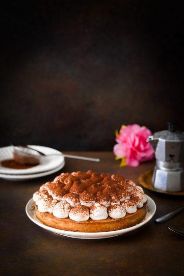 tarte au café chantilly mascarpone facon tiramisu