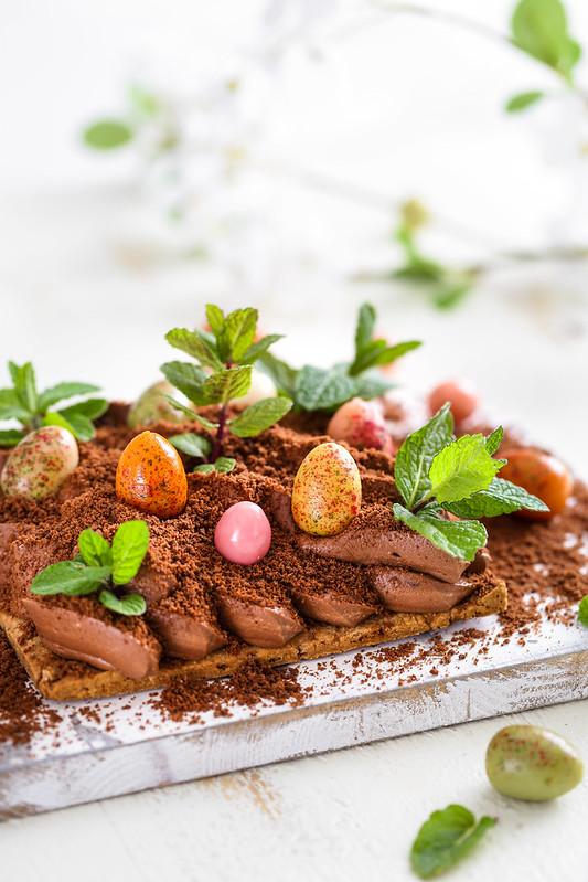 Mousse chocolat potager trompe oeil recette facile
