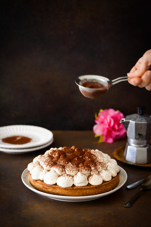 tarte cafe mousse mascarpone recette facile