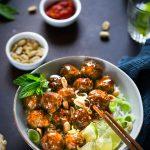 boulettes boeuf sauce soja recette facile