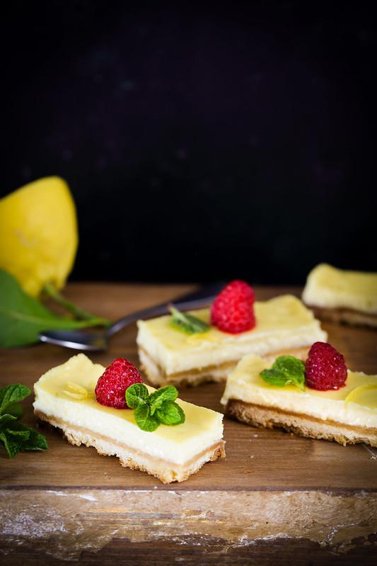 Carres citron recette parfaite