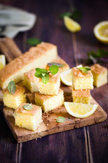 gateau moelleux au citron