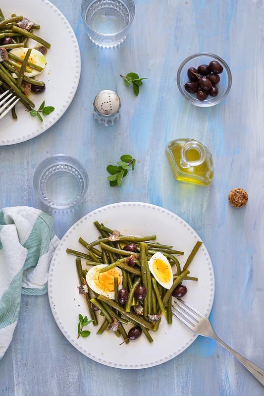 salade haricots vert italienne recette