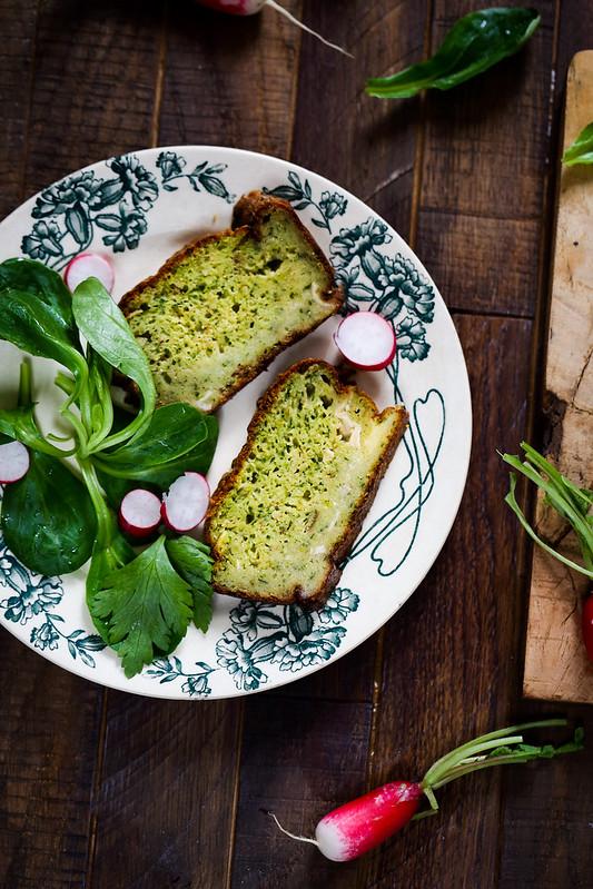 cake camembert herbes recette facile pique nique