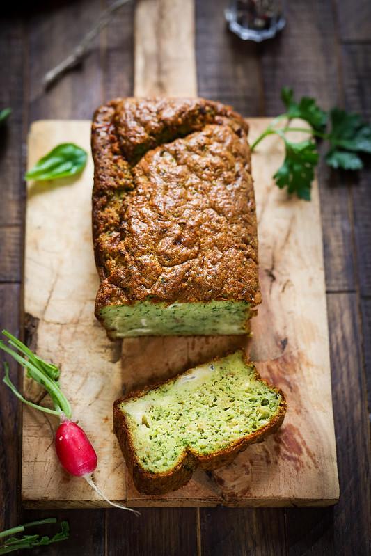 cake camembert vert recette facile