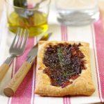 tarte fine oignons rouges