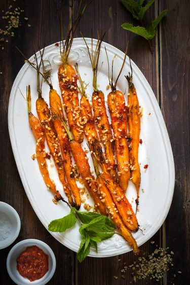 carottes roties recette facile