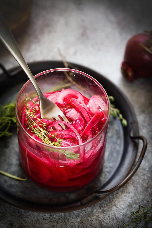 oignons rouges vinaigre marines recette light healthy
