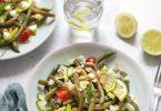 salade haricots verts feta citron