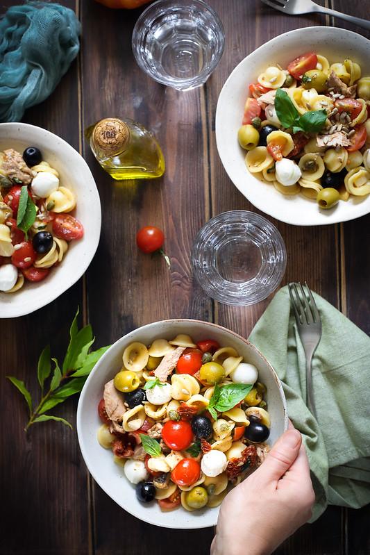 Salade de pates recette italienne