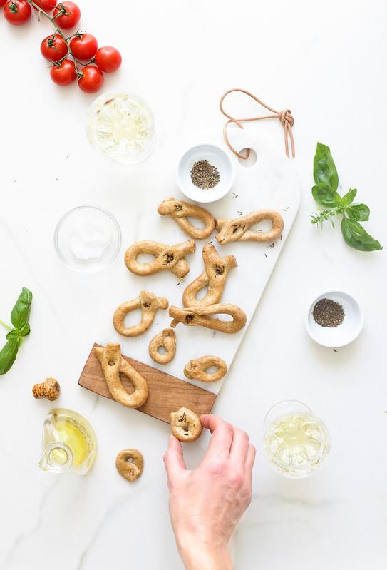taralli biscuits apero italiens recette video