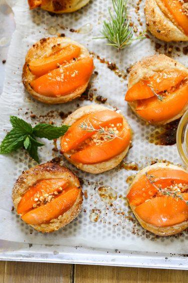 tarte fine abricots noisettes recette facile
