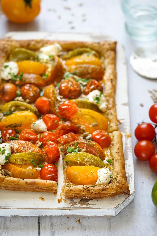 tarte tomates facile