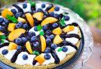 tarte myrtilles yaourt sans cuisson