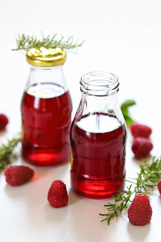 vinaigre framboise recette maison facile rapide