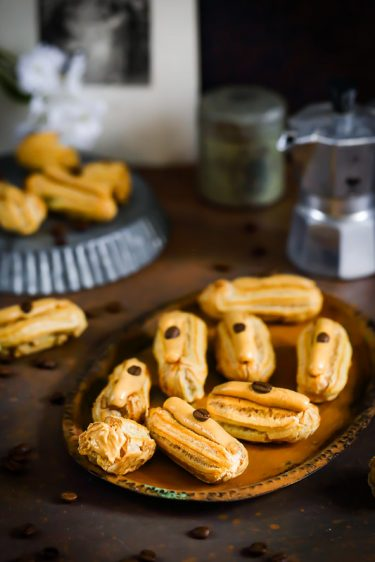 eclairs cafe recette