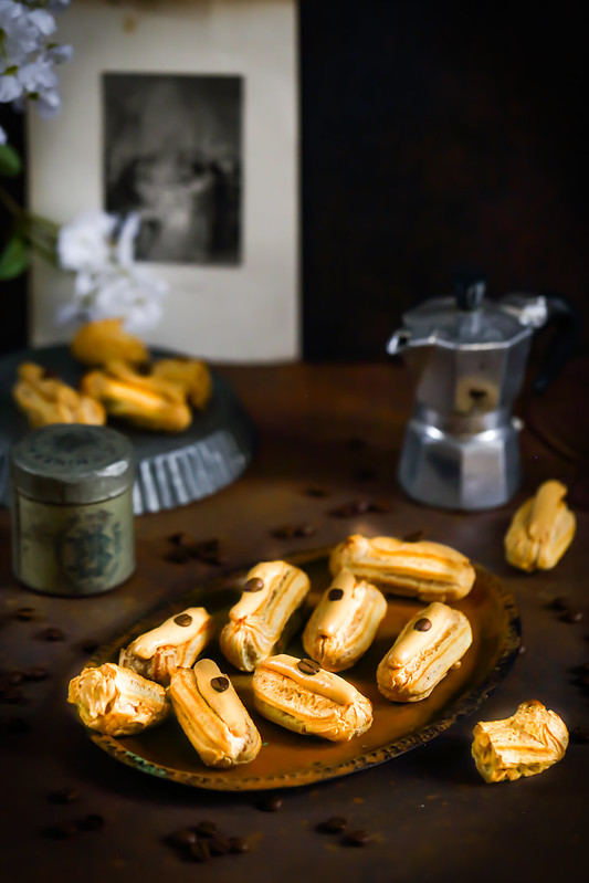 eclairs cafe recette revisitee
