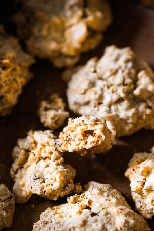 biscuits croustillants noisettes italiens recette facile