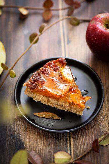 gateau renverse pommes cannelle